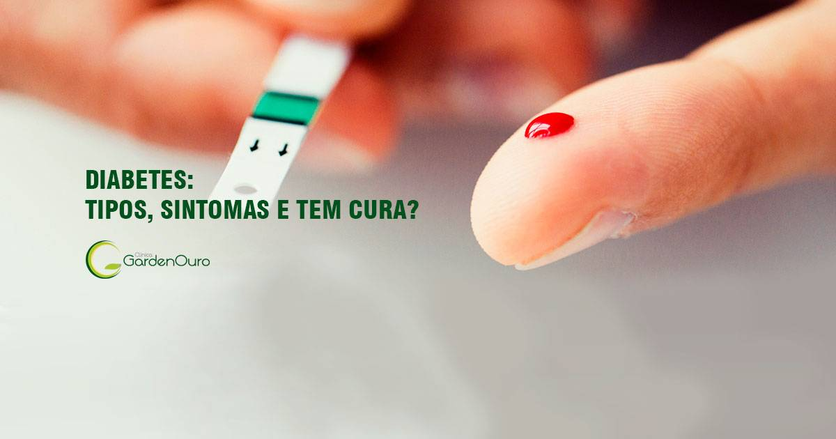You are currently viewing Diabetes: tipos, sintomas e tem cura?